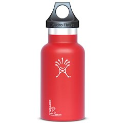 Hydro Flask 12 Oz Standard Mouth Vacuum Insulated Stainless Steel Water Bottle - Arctic White