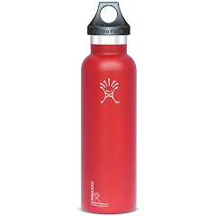 Hydro Flask 21 Oz Standard Mouth Vacuum Insulated Stainless Steel Water Bottle - Orange Zest