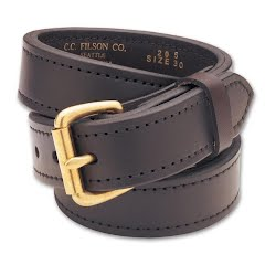 Filson Men's 1 1 / 4 In . Double Belt - Brown