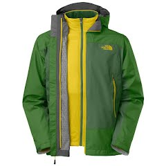 The North Face Men's Tri - Blaze Triclimate Jacket - Biking Red