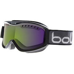 Bolle Carve Snow Goggle - Shiny Green / Vermillion