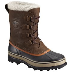 Sorel Mens Caribou Wool Winter Boot - Tobacco
