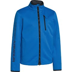 Under Armour Mountain Boy's Youth Ua Storm Coldgear Infrared Softershell Jacket - Electric Blue