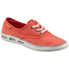 Columbia Women's Vulc N Vent Lace Shoe - Chameleon Green