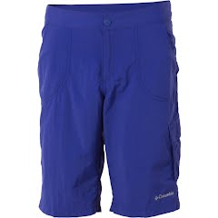 Columbia Girl's Preschool Weekend Water Knee Short - Clematis Blue