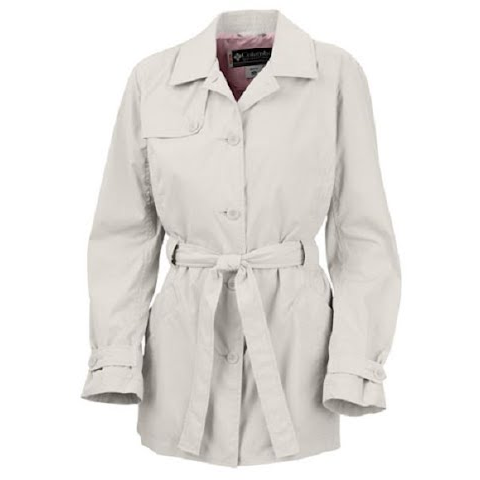 Columbia Mckenzie Mountain Long Trench -Bluetime