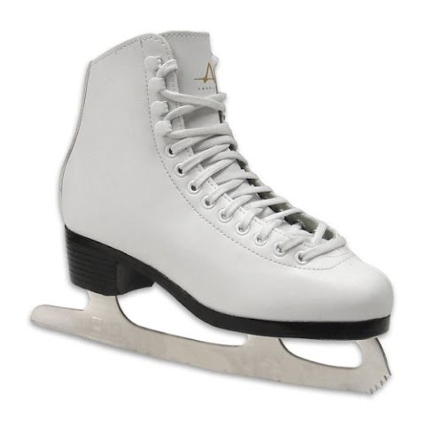 Image of American Athletic Youth Girl ' S Figure Skates - White