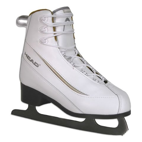 Image of American Athletic Women ' S Head Series Softboot Figure Skates - White
