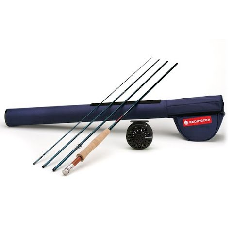 Image of Redington Crosswater Series 4 - Piece , 9ft 6wt Fly Rod And Reel Outfit