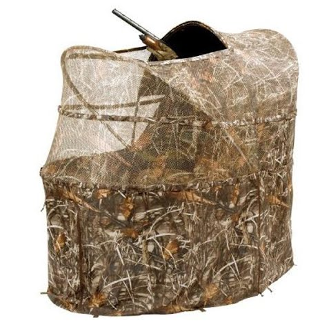 Image of Ameristep Wing Shooter Chair Blind ( Realtree Advanced Max - 4 )
