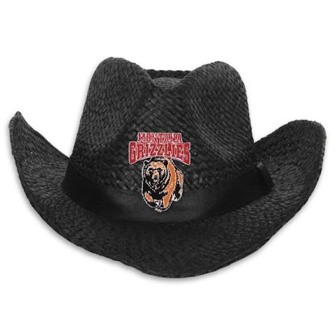Product image of Littlearth Mens U Of M Grizzlies Black Cowboy Hat - U Of M Grizzlies