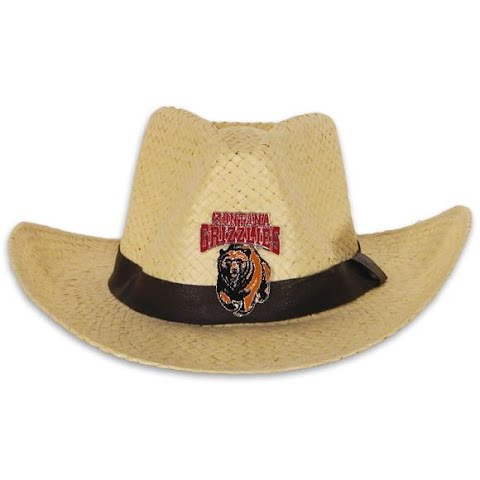 Product image of Littlearth Mens U Of M Grizzlies Natural Cowboy Hat - U Of M Grizzlies