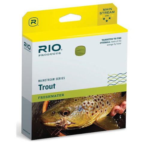 Image of Rio Mainstream Trout Floating Fly Line ( Wf3f )