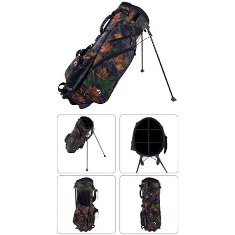 Image of Pinemeadow Golf Camouflage Stand Bag