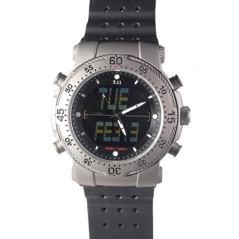 Product image of 5 . 11 Tactical H . R . T . Titanium Watch - Silver