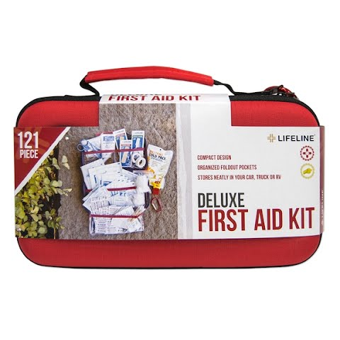 Product image of Lifeline 121 Piece Deluxe First Aid Kit