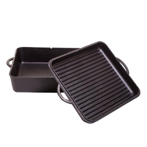 Camp Chef 13 In . Square Dutch Oven