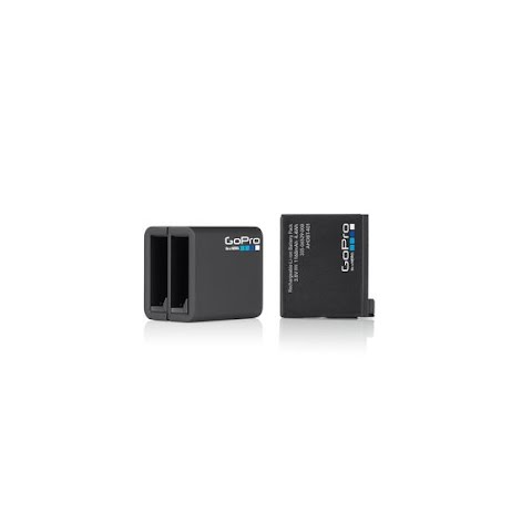 Gopro Dual Battery Charger + Battery For Hero4