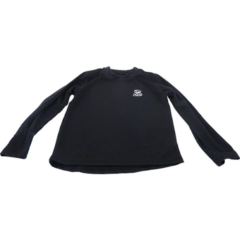 M T Mountaineering Youth Mid Weight Thermal Base Layer Crew Top – Black