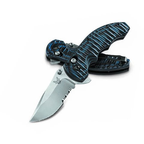 Image of Benchmade Knives Axis Flip Thumbstud Folding Blade