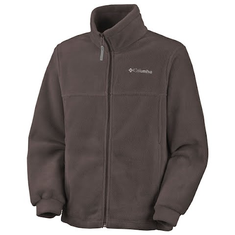 Columbia Boys Preschool Steens Mountain Full Zip -Red Mahogany