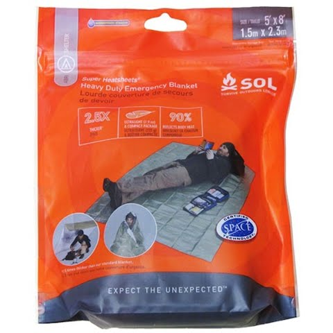Product image of Adventure Medical Sol Heavy Duty Emergency Blanket