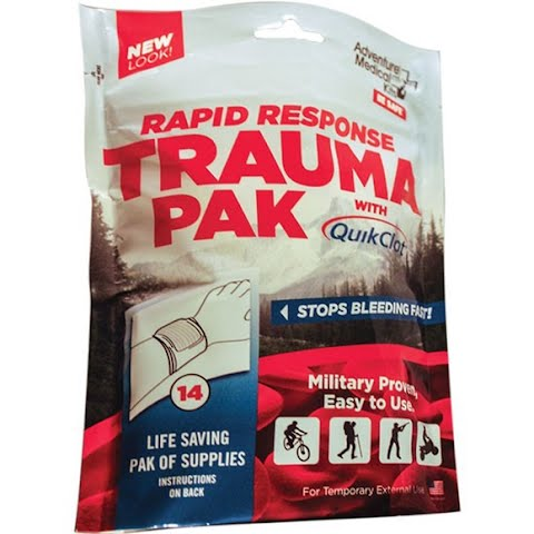 Product image of Adventure Medical Rapid Response Trauma Pack With Quikclot