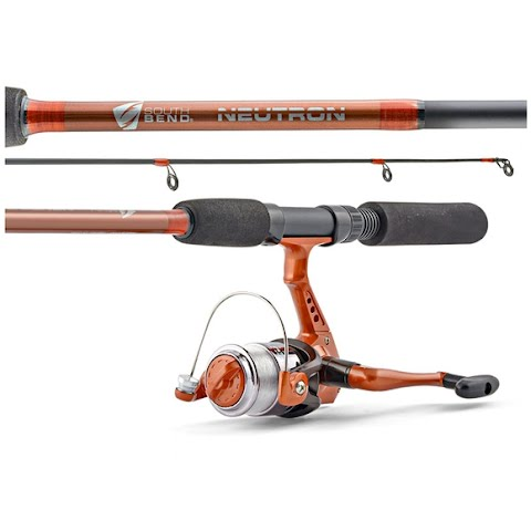 South Bend Neutron Spinning Combo 5 Foot 6 Inch 2 Piece Medium Action