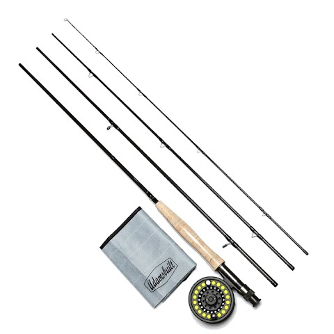 Adamsbuilt Learn To Fly Fish Combo