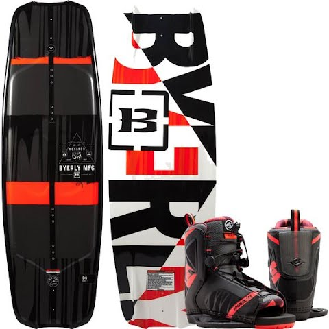 Product image of Byerly Monarch Wakeboard With Hyperlite Remix Boots Combo