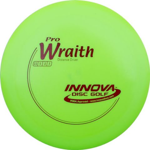 Image of Innova Pro Wraith Golf Disc - White