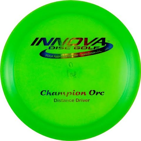 Image of Innova Champion Orc Golf Disc - Pink