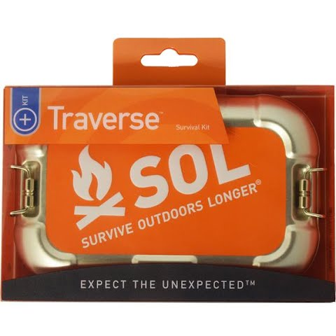 Product image of Adventure Medical Sol Traverse Survival Kit