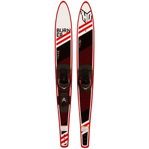 Product image of Ho Sports Burner Waterski And Binding Combo