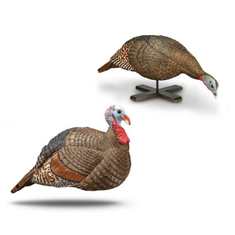 Hunter Specialties Jake And Penny Snood Feeder Turkey Decoy Combo Pack