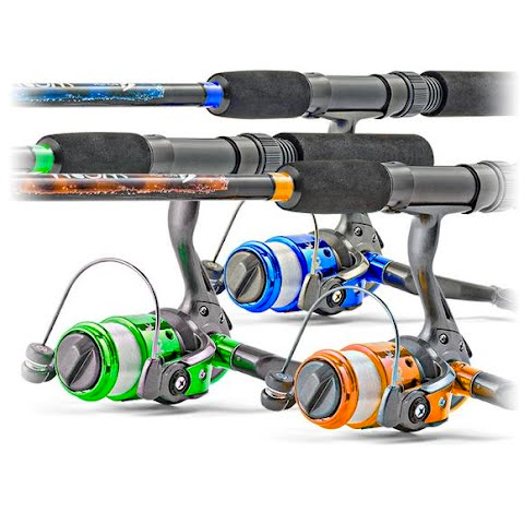 South Bend Worm Gear Spinning Combo
