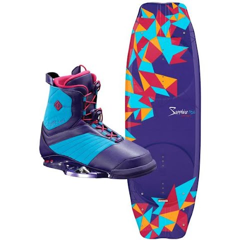 Product image of Cwb Women ' S Sapphire Wakeboard W / Ember Bindings Combo