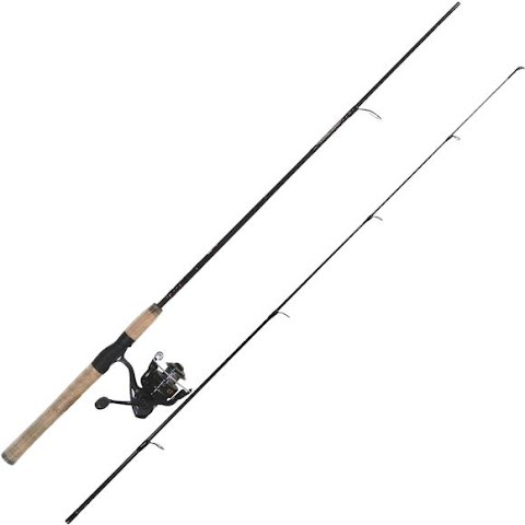 Quantum Nx24 6ft 6in 2 – Piece Spinning Combo