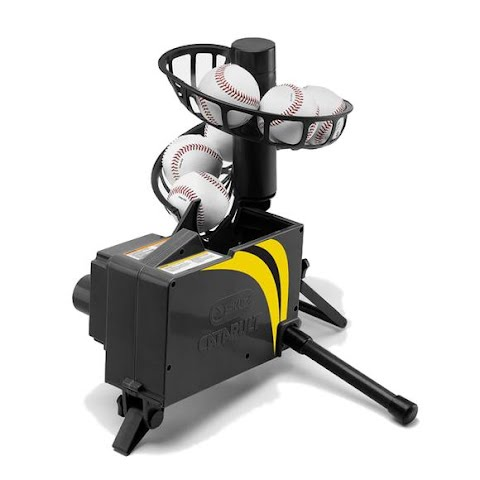 Image of Sklz Catapult Soft Toss Pitch Machine And Fielding Trainer