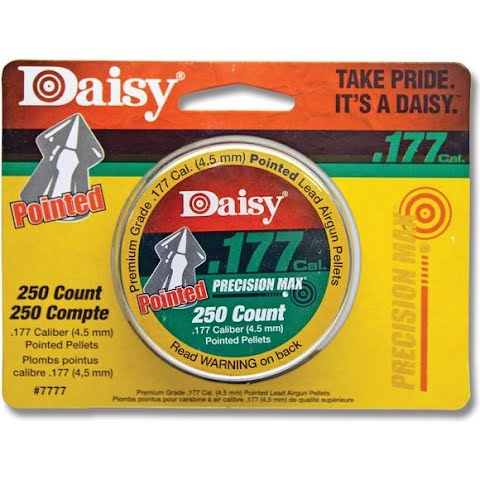 Daisy Precisionmax 250 Count . 177 Cal . Pointed Field Pellets
