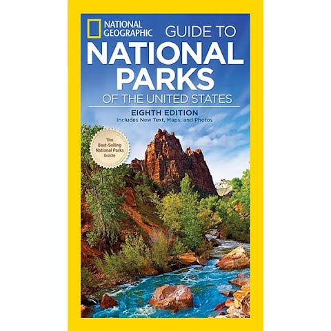 National Geographic Guide To National Parks Of The Us ( 8th Edition )