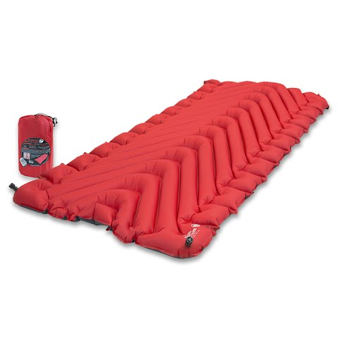 Image of Klymit Insulated Static V Luxe Sleeping Pad - Red