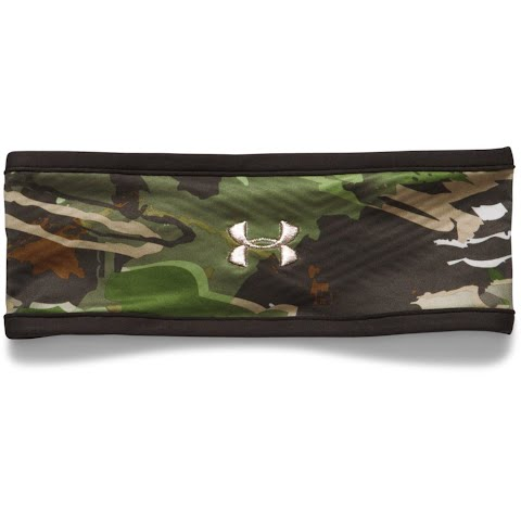 Product image of Under Armour Women ' S Coldgear Infrared Fleece Camo Headband - Ridge Reaper Forest / Cannon