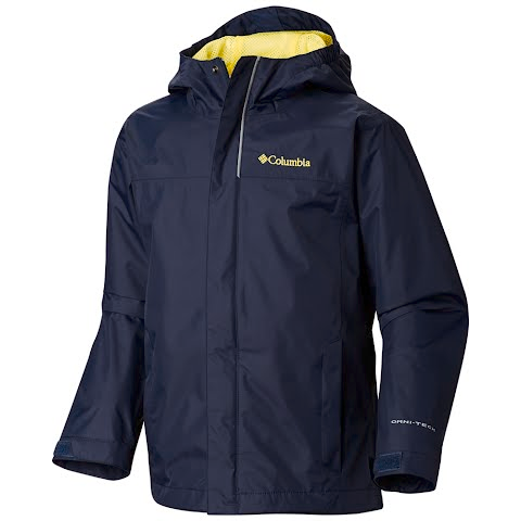 Columbia Boys Youth Watertight Jacket - Collegiate
