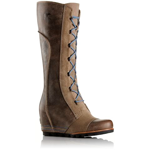 Product image of Sorel Women ' S Cate The Great Wedge Boot - Pebble