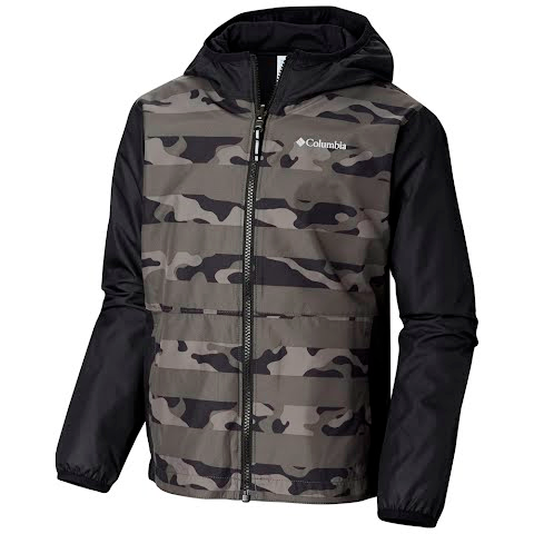 Columbia Youth Pixel Grabber - Grill Camo