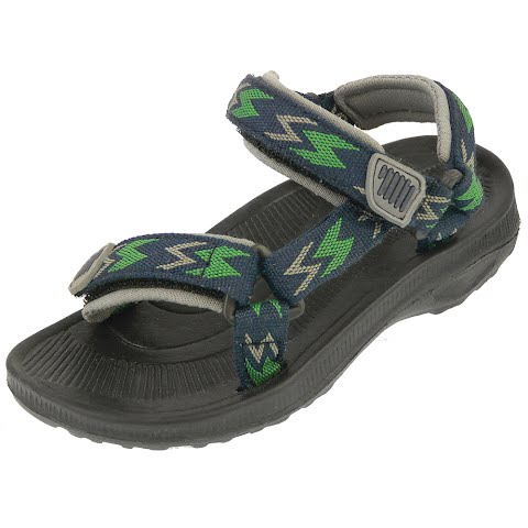 Product image of Beach Basics Infant ' S River Sandal - Royal / Lime