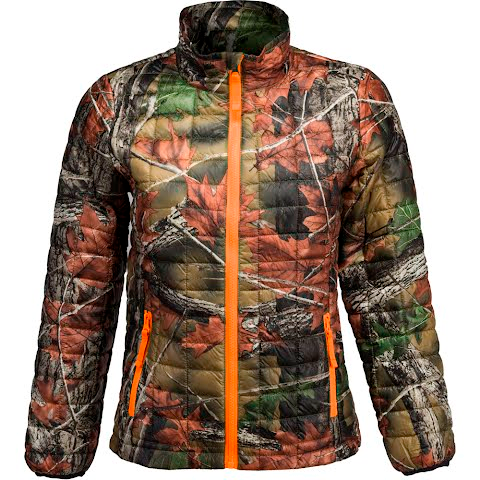 Trail Crest Youth Boy's Ultra – Thermic Lightweight Jacket – Blaze Orange