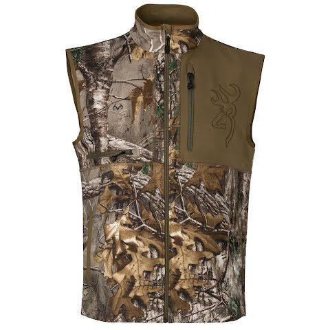 Browning Men ' S Hell ' S Canyon Mercury Vest – Realtree Xtra