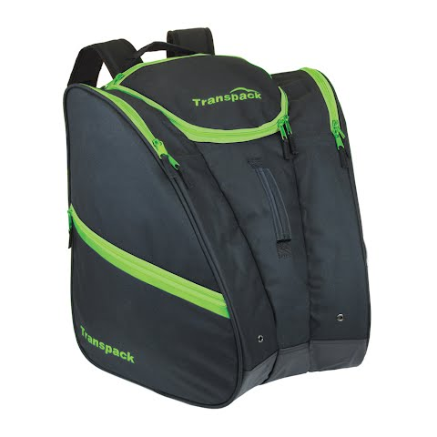 Image of Transpack Cargo Boot Bag - Black With Lime Electric